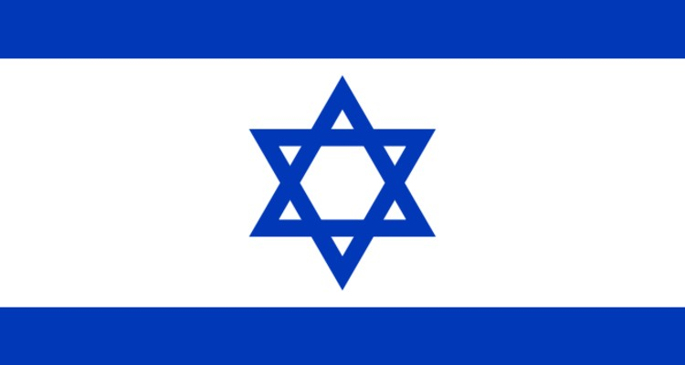 israel-flag-post
