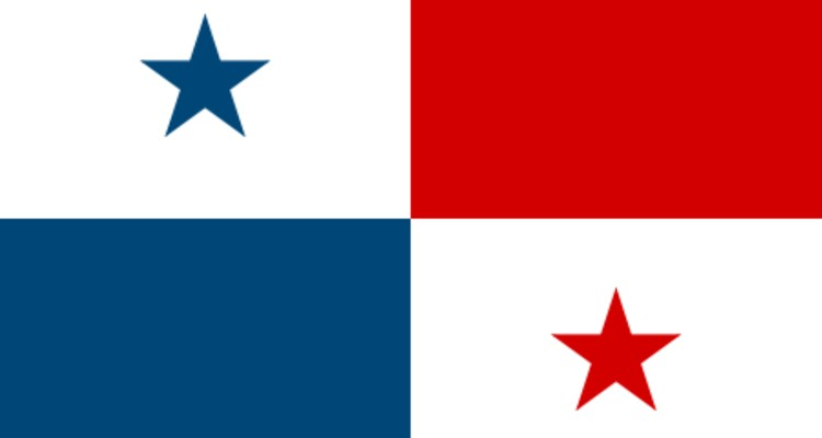 panama-flag-post