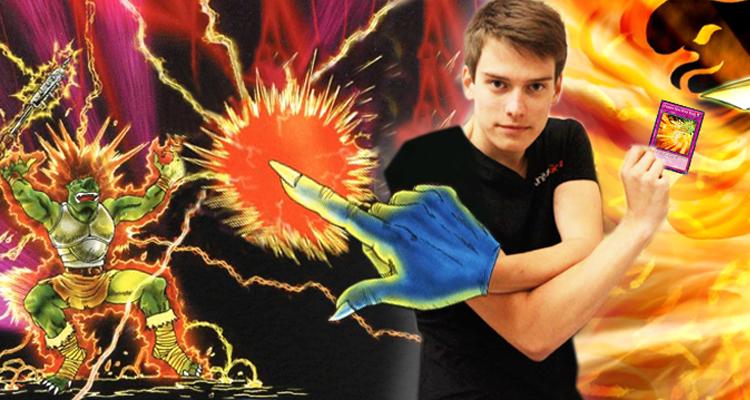 Peter can't decide between Raigeki Break or Phoenix Wing Wind Blast