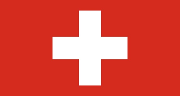 swiss-flag-post